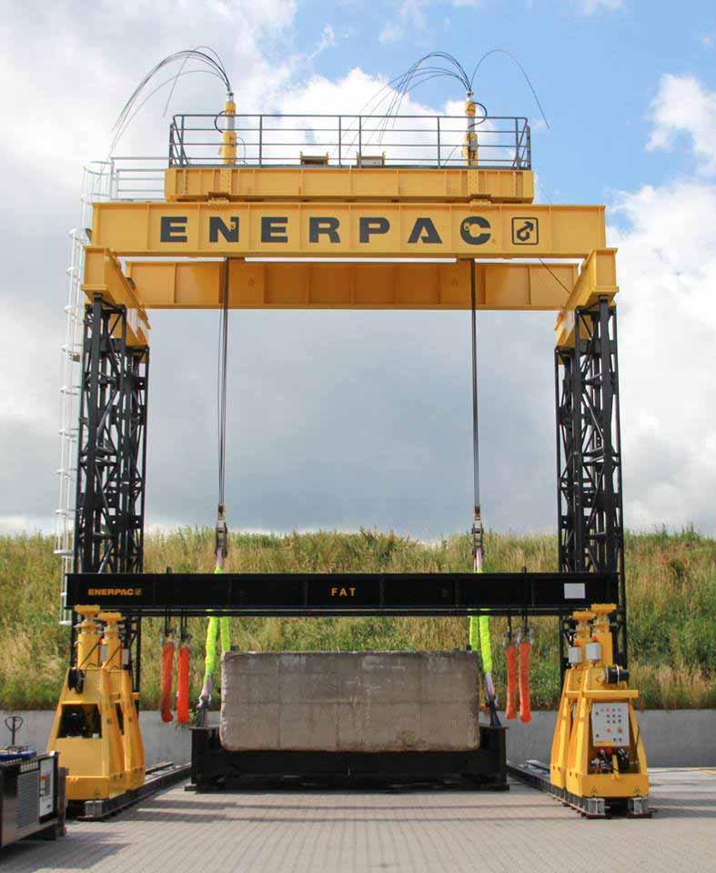Enerpac Hydraulic Gantry-01