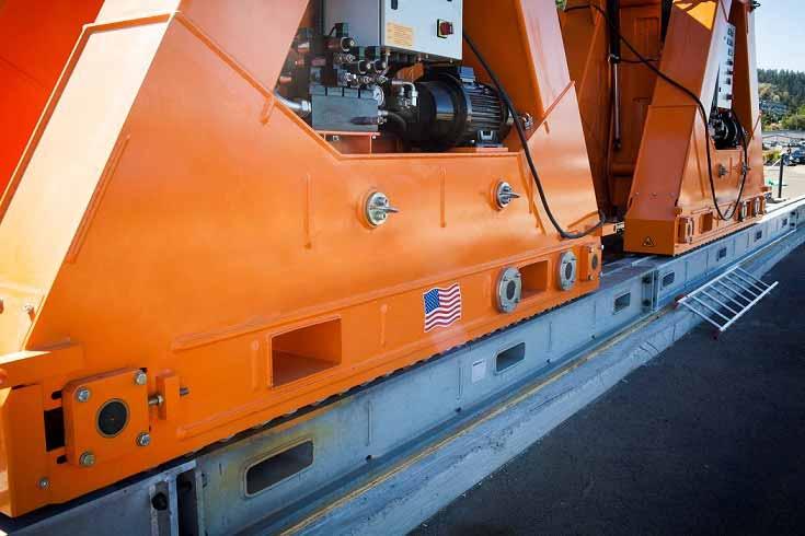 2012 Sbl1100 Gantry System Engineered Rigging