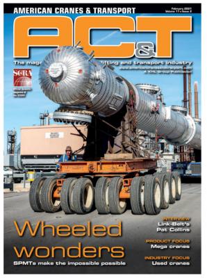 American Cranes Transport_SPMTs_Cover Feb 2021